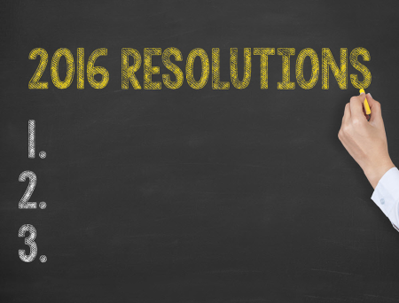 What are your resolutions?